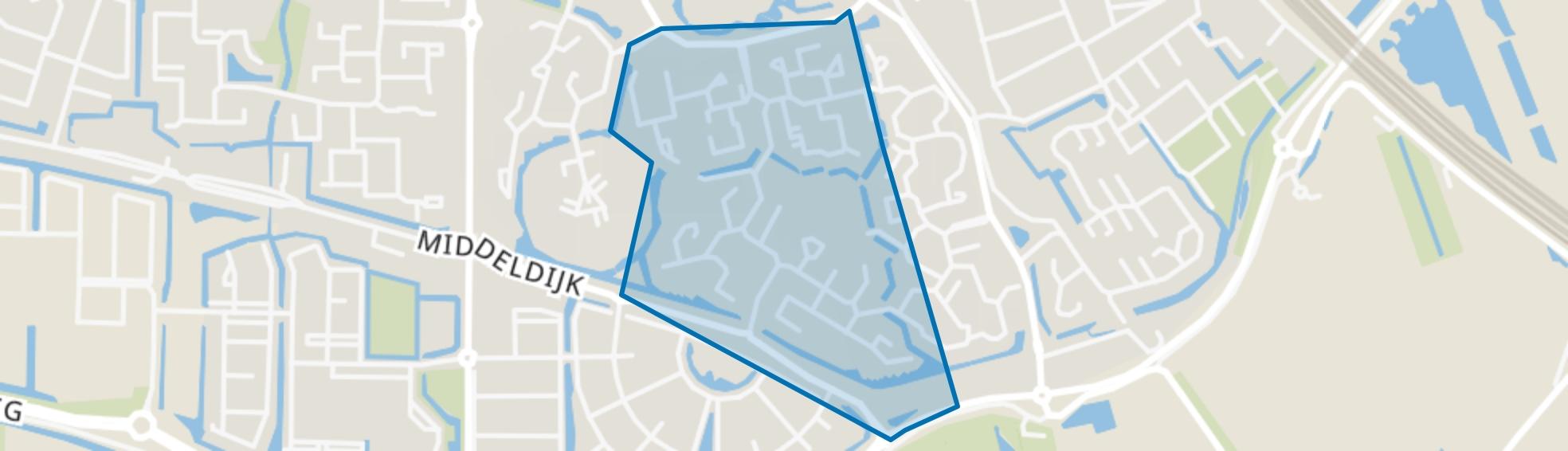 Buitenoord 2, Barendrecht map