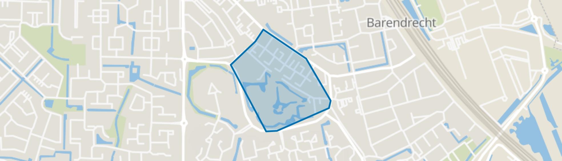 Centrum Oost, Barendrecht map