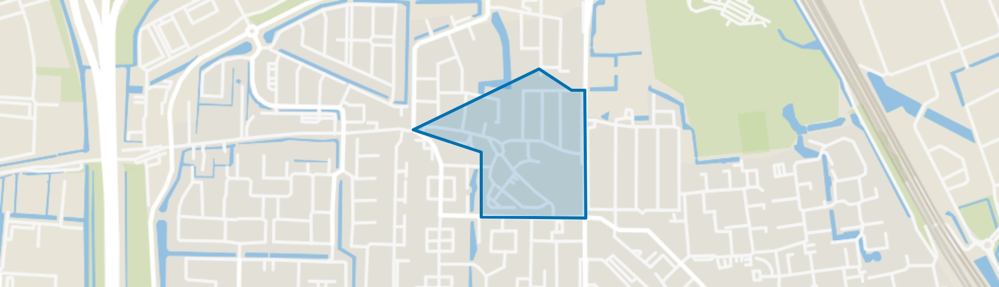 Centrum West, Barendrecht map
