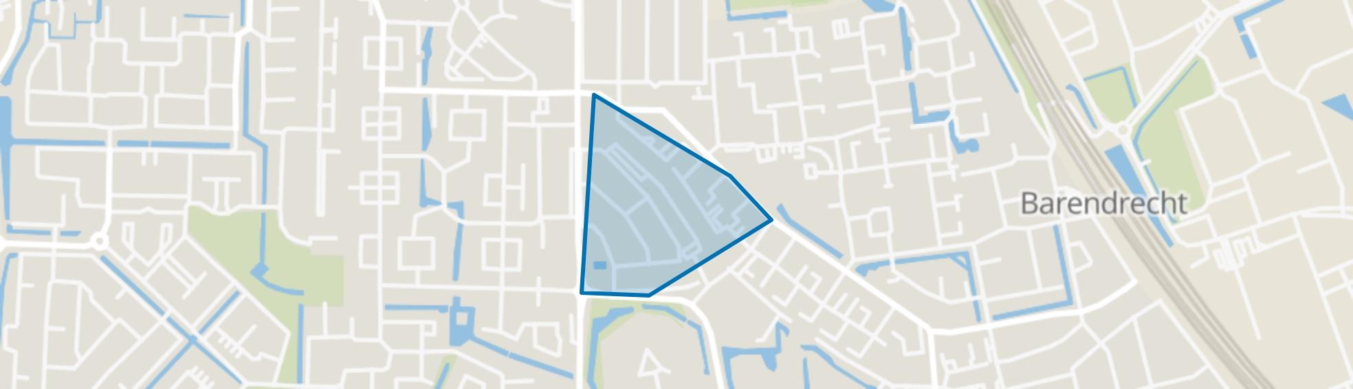Centrum, Barendrecht map
