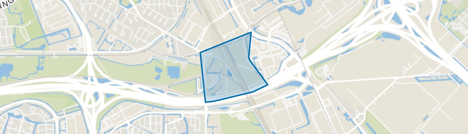 Dordtsestraatweg, Barendrecht map