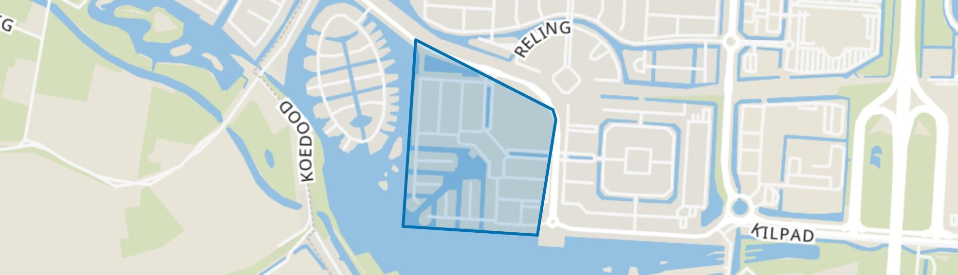 Havenkwartier, Barendrecht map