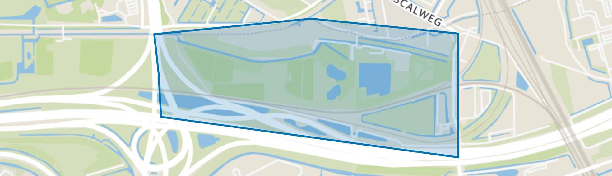 Kooiwalbos, Barendrecht map
