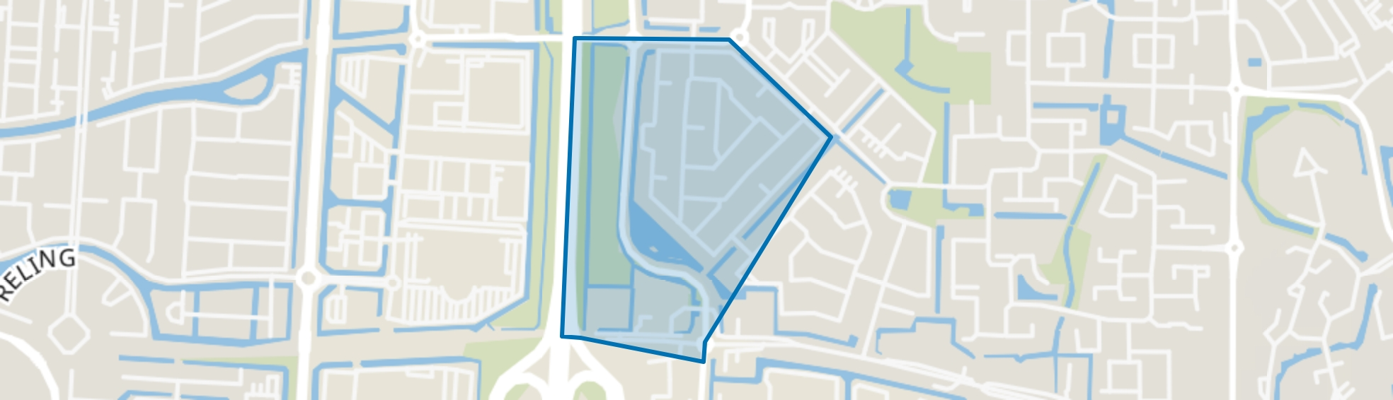 Nieuweland 2, Barendrecht map