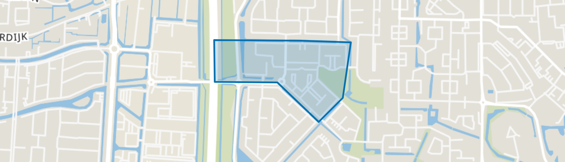 Nieuweland 3, Barendrecht map