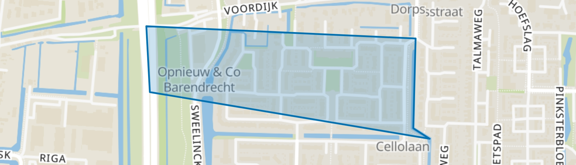 Nieuweland 5, Barendrecht map