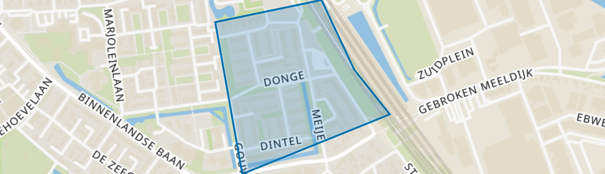 Noord 4, Barendrecht map