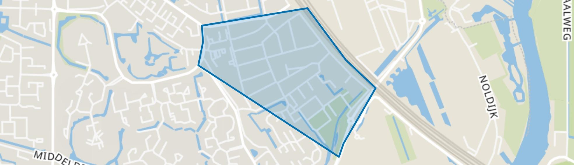Oranjewijk 1, Barendrecht map