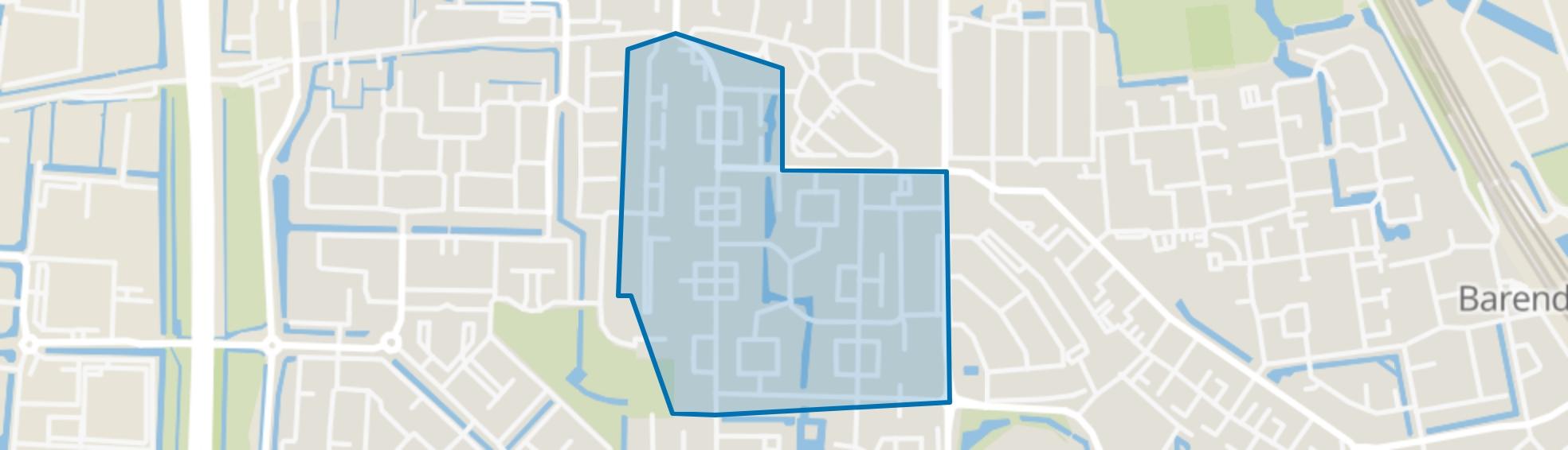 Paddewei, Barendrecht map