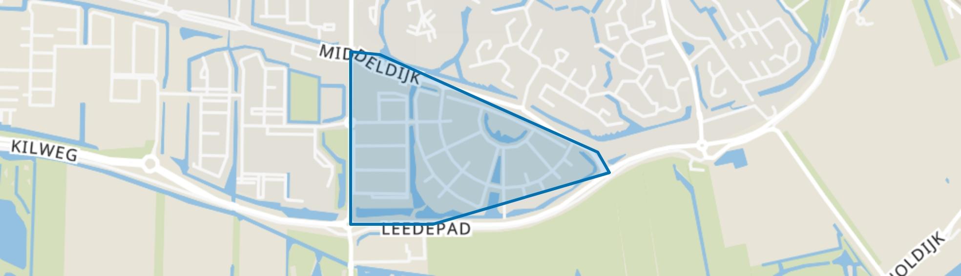 Ter Leede, Barendrecht map