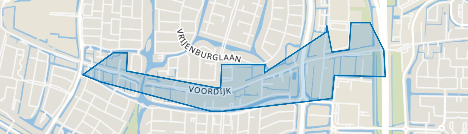 Voordijk, Barendrecht map