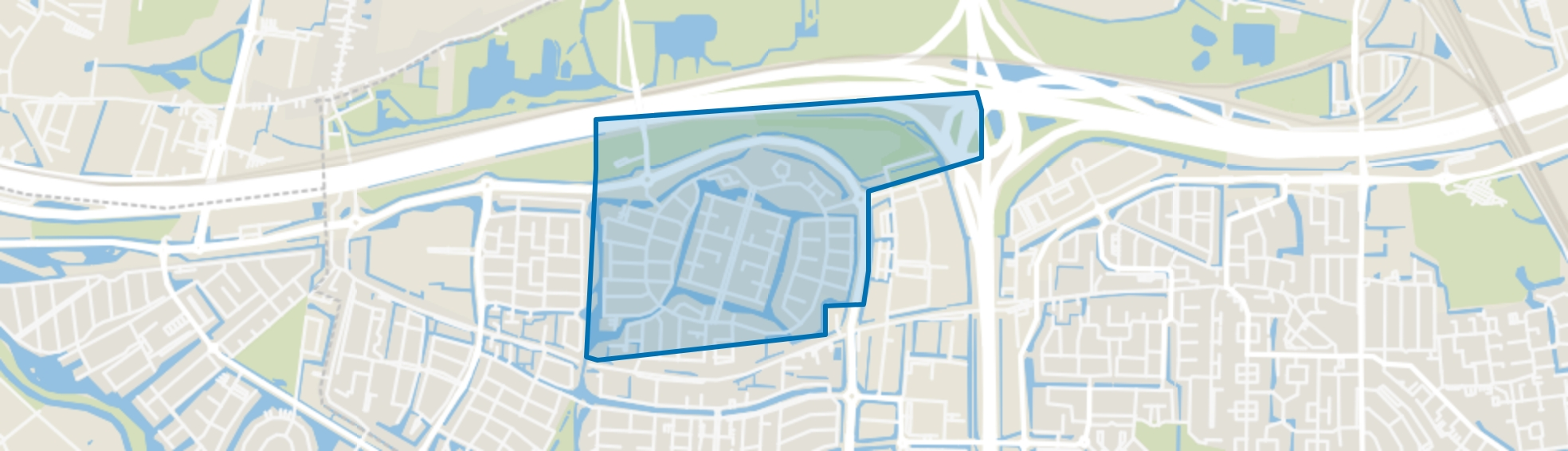 Vrijenburg, Barendrecht map
