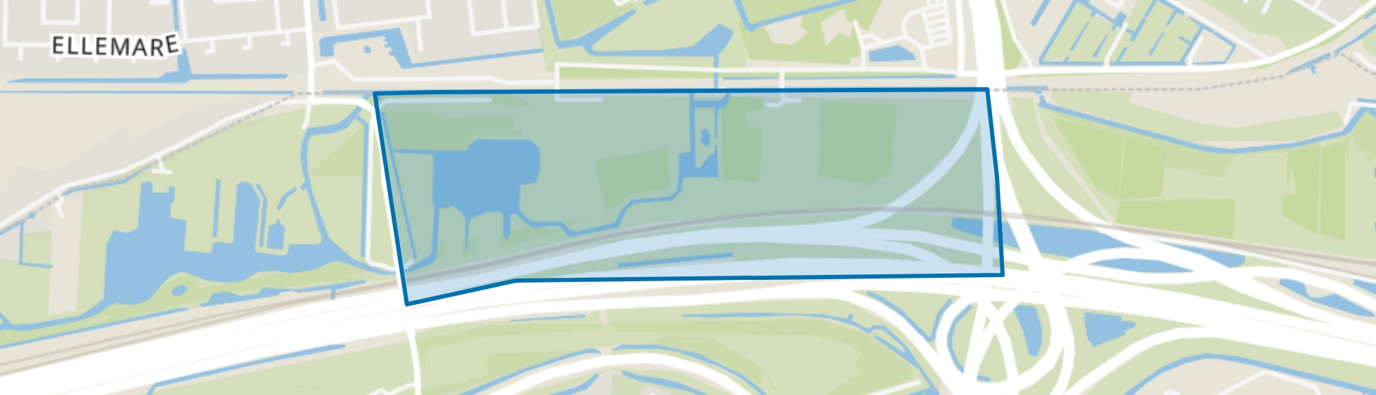 Vrijenburgbos, Barendrecht map