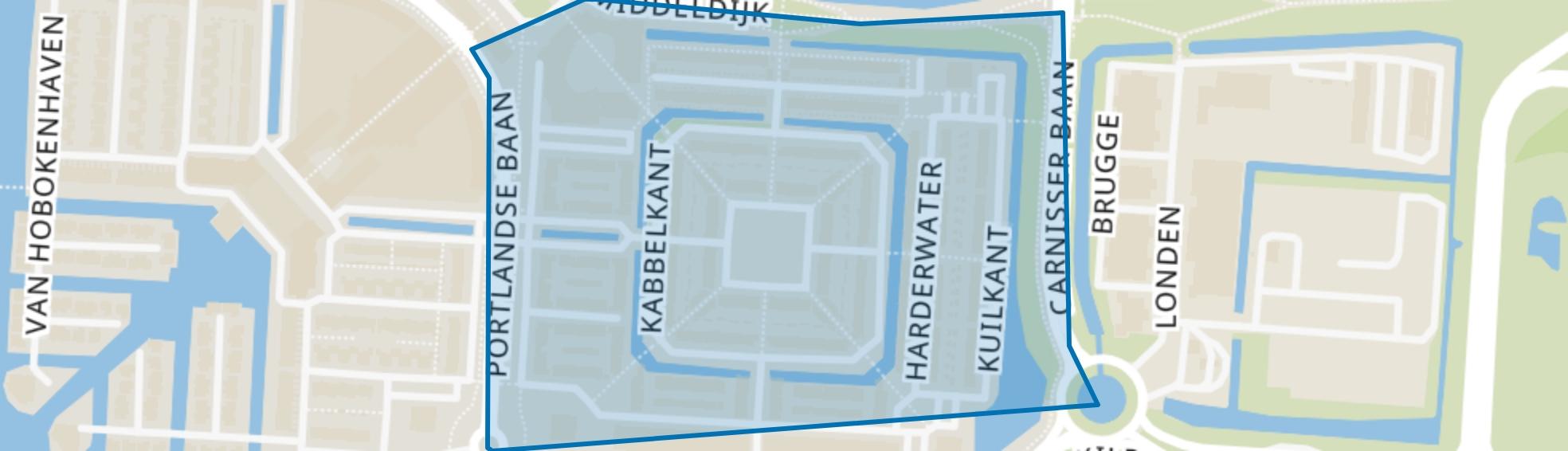 Waterkant, Barendrecht map