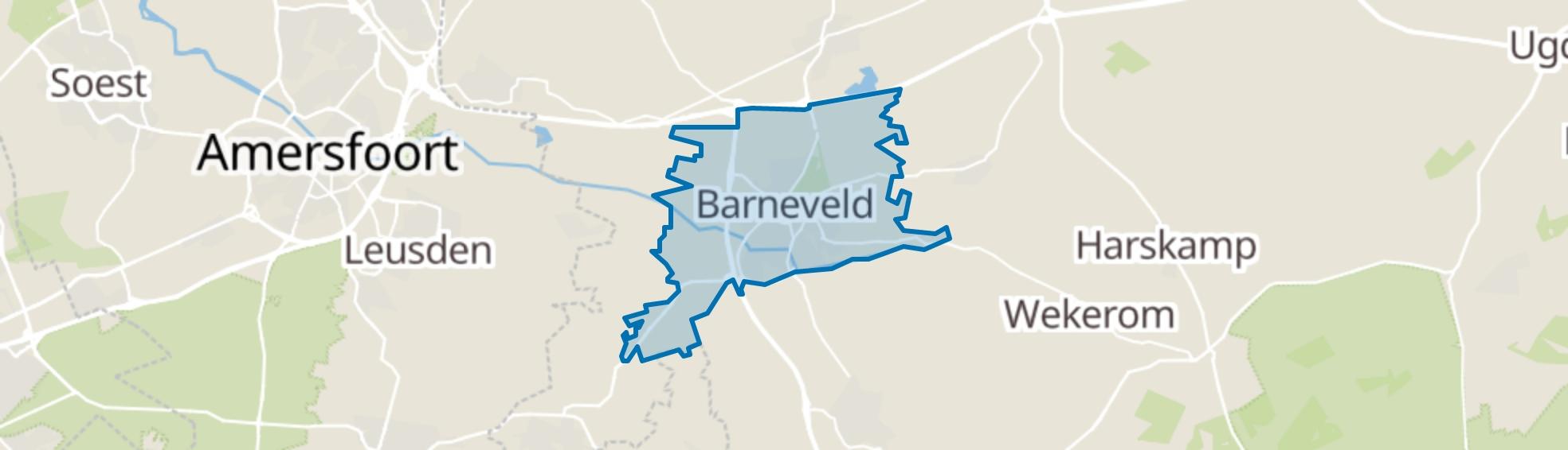 Barneveld map