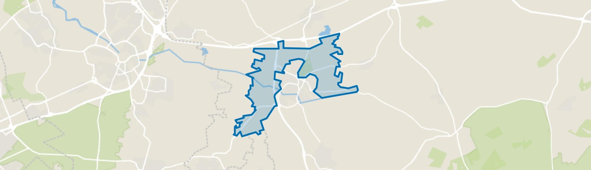 Buitengebied Barneveld, Barneveld map