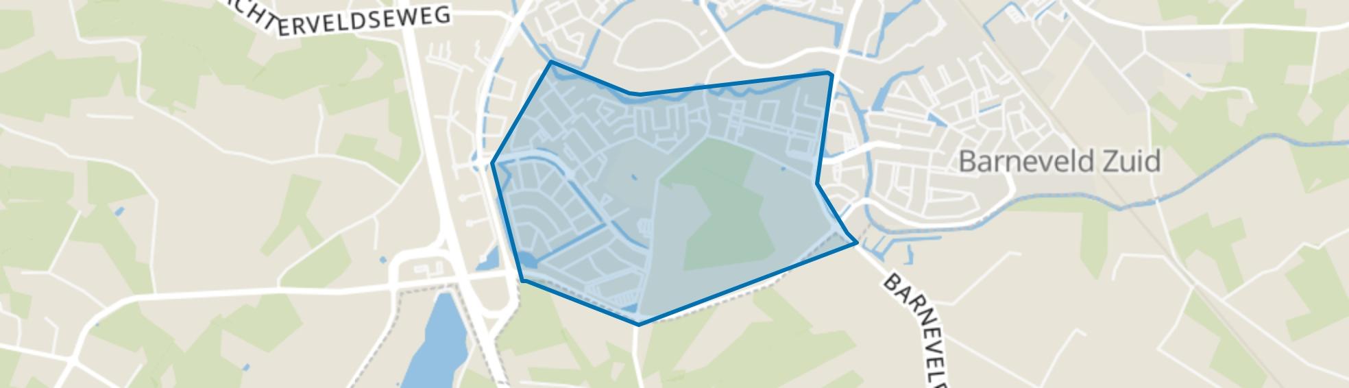 De Burgt, Barneveld map