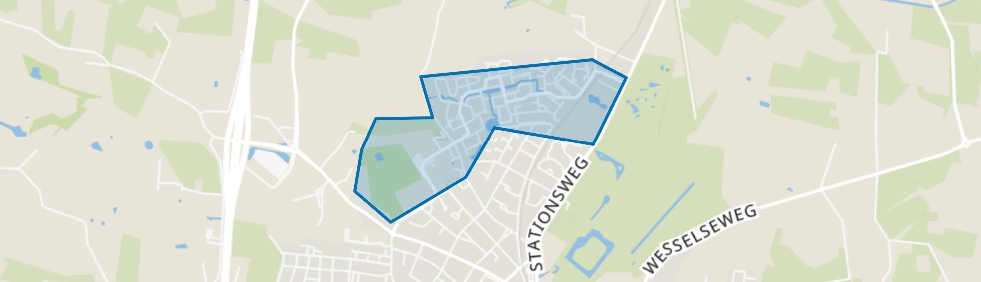 De Vaarst, Barneveld map