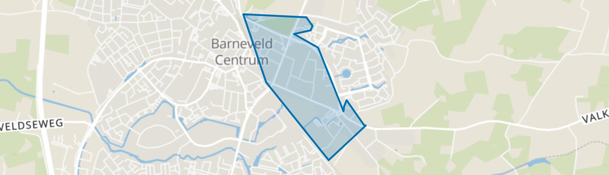 De Valk, Barneveld map