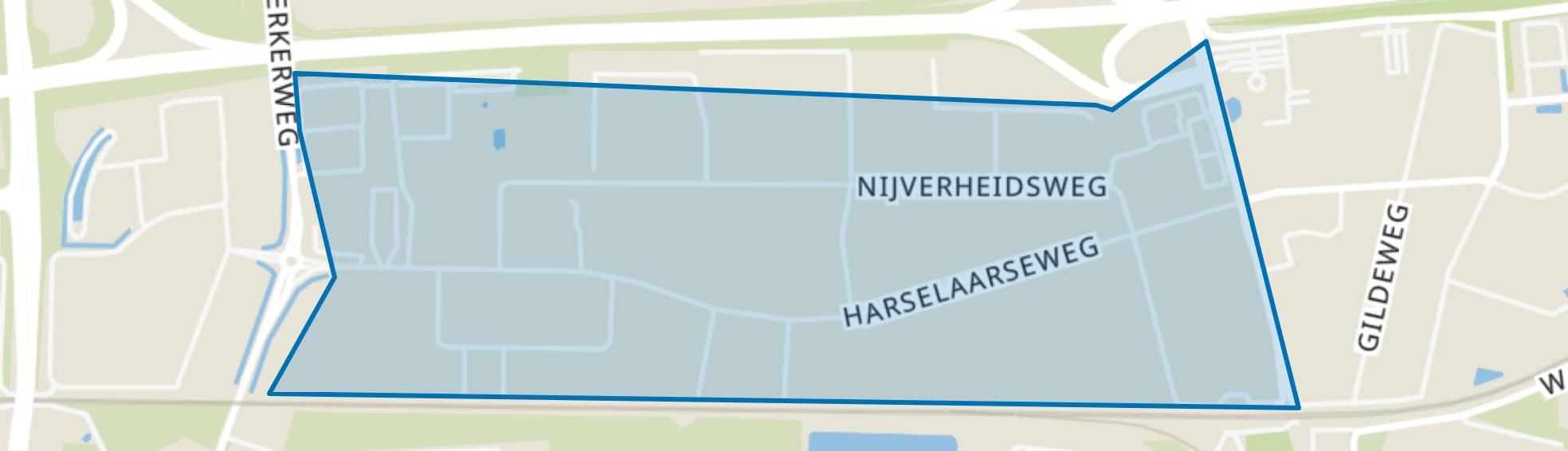 Harselaar-West, Barneveld map
