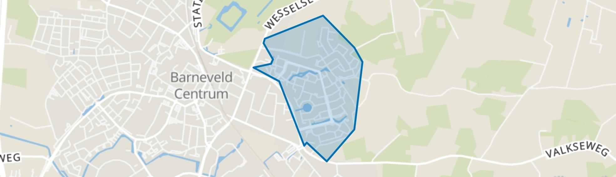 Norschoten, Barneveld map