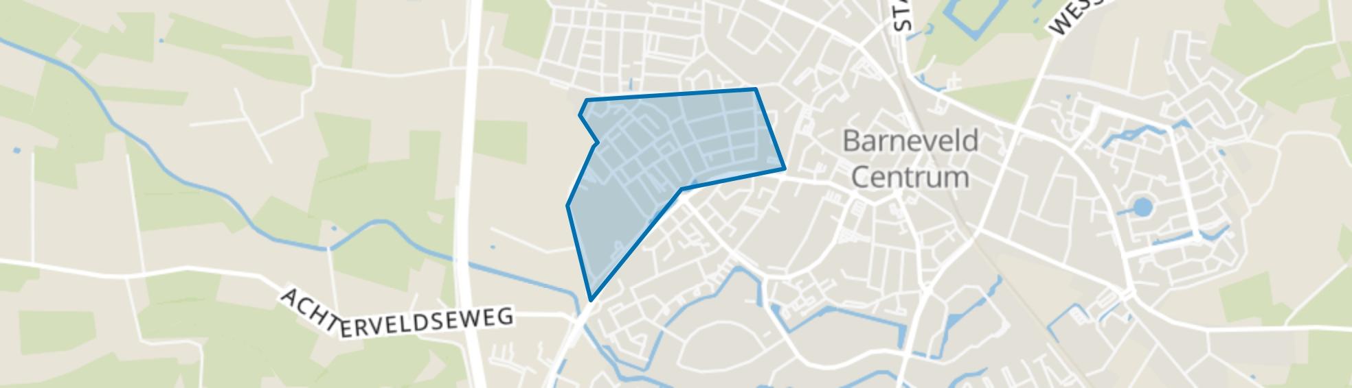 Oldenbarneveld, Barneveld map