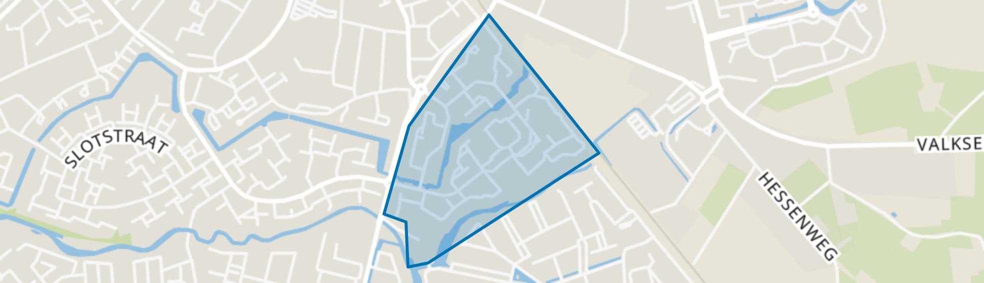 Rootselaar-Oost, Barneveld map