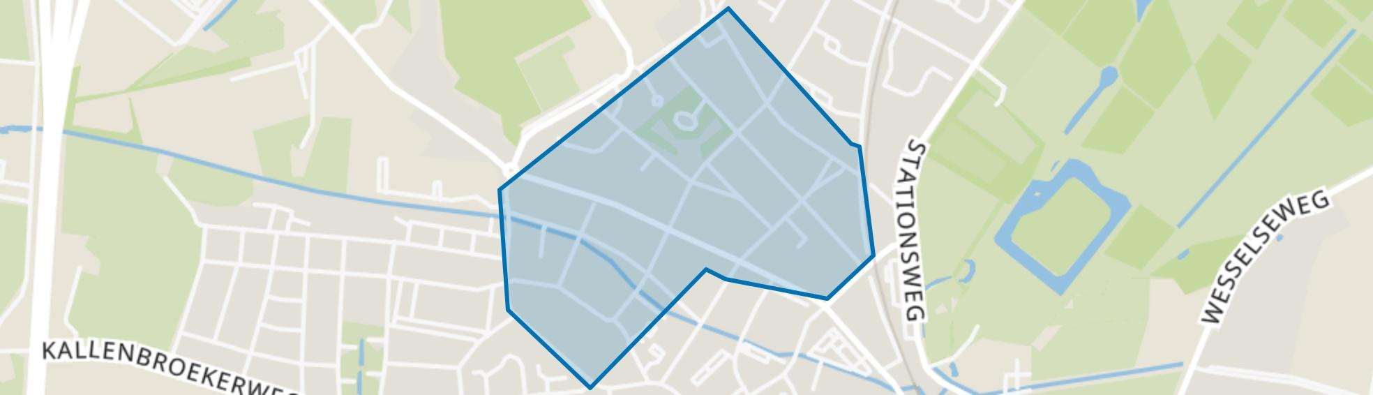 Staatsliedenwijk, Barneveld map