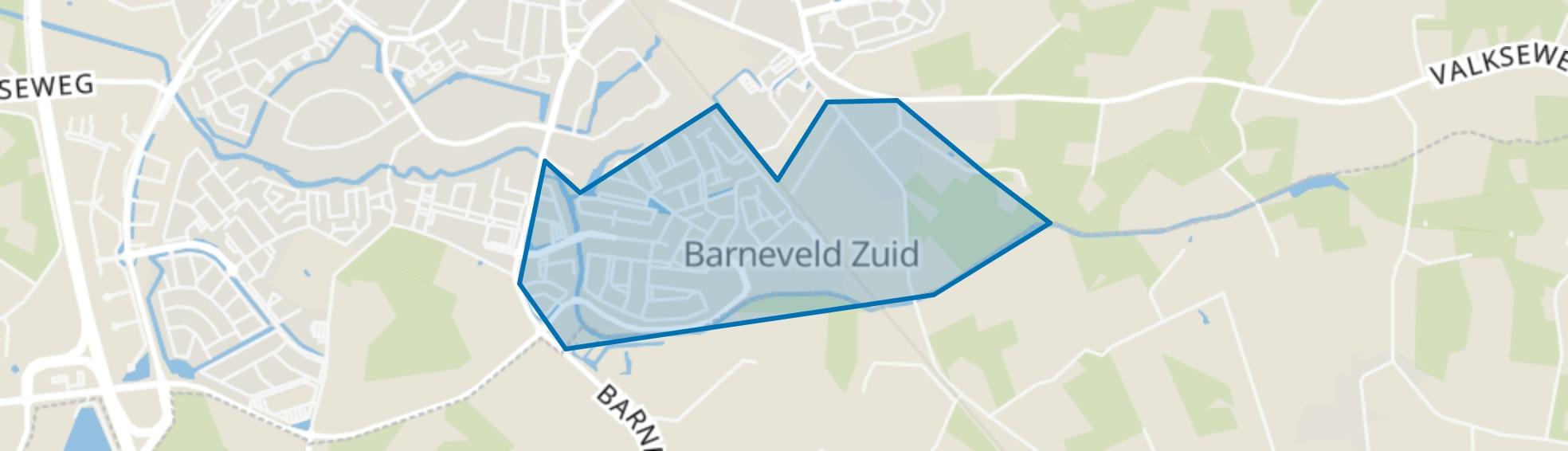 Veller, Barneveld map