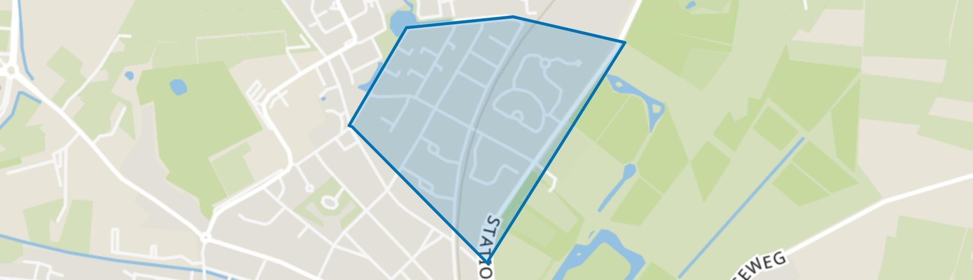 Vliegersveld, Barneveld map