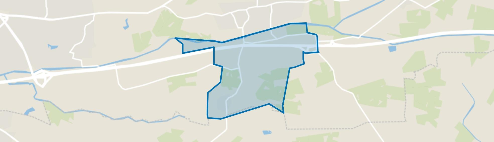 Dortherhoek, Bathmen map