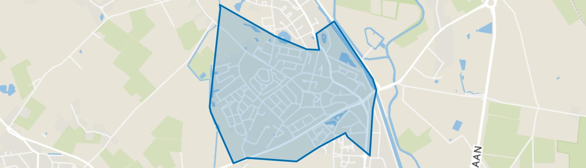 Beek, Beek en Donk map