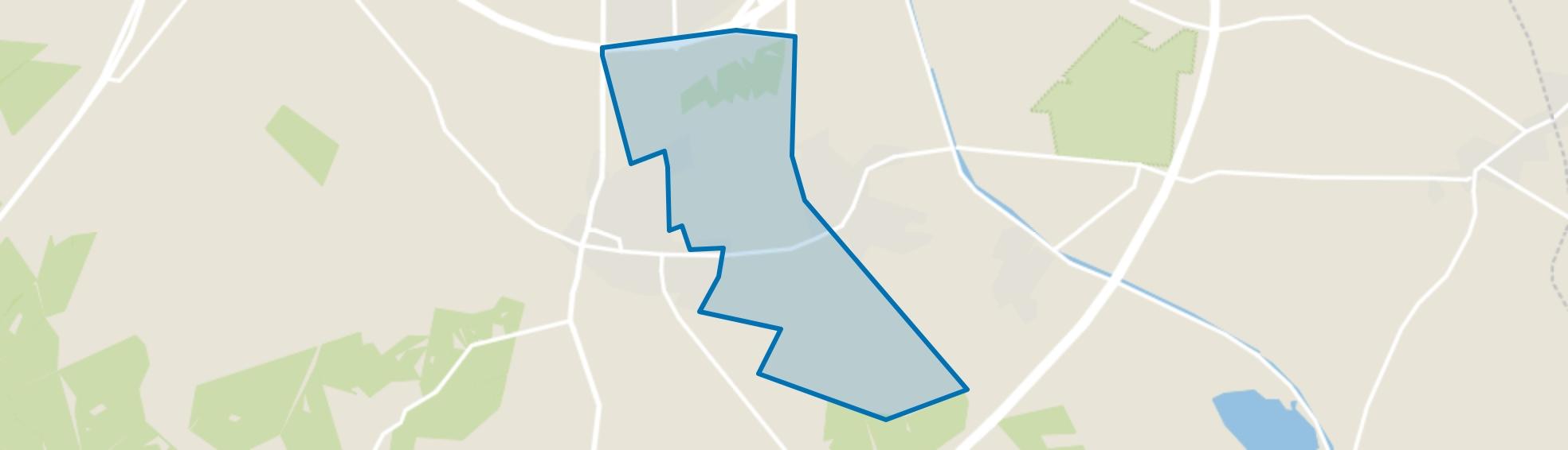 Agrarisch gebied Beekbergen, Beekbergen map