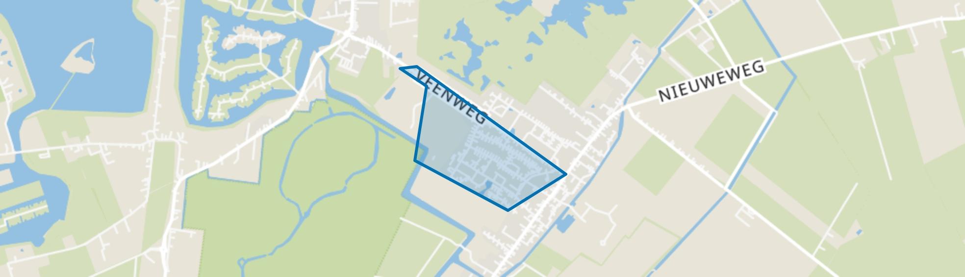 Beerta-Nieuwbouw, Beerta map