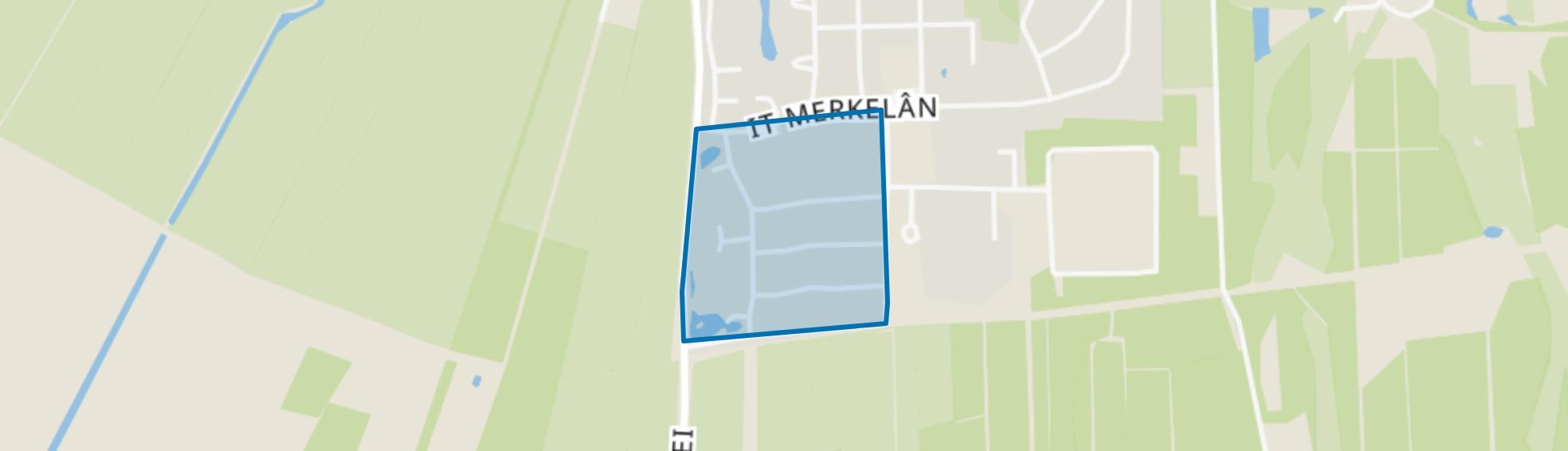 Beetsterzwaag-Hup strjitten, Beetsterzwaag map
