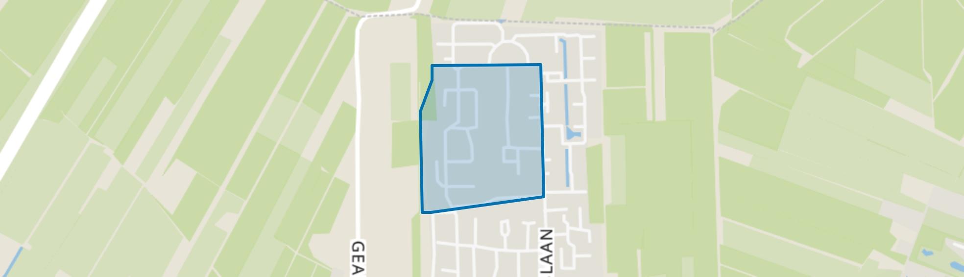Beetsterzwaag-Singels, Beetsterzwaag map