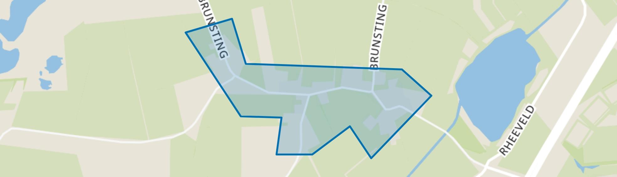 Brunsting, Beilen map
