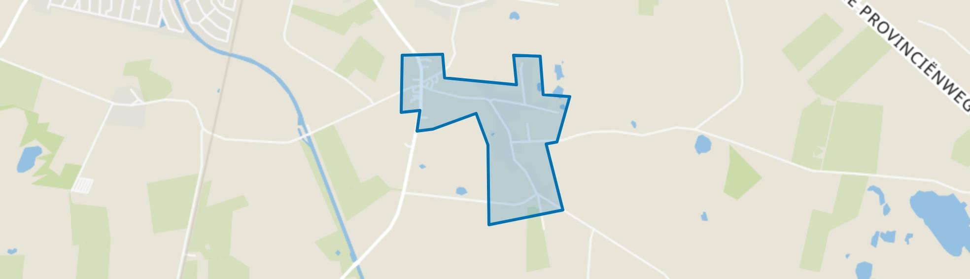Holthe, Beilen map