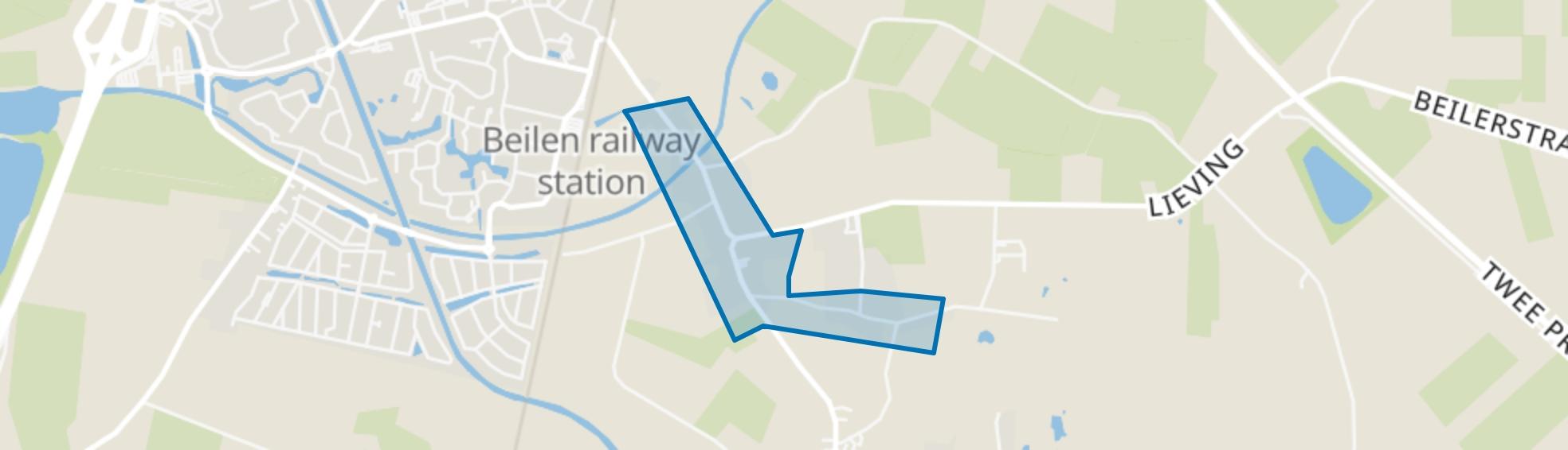 Lieving Makkum, Beilen map