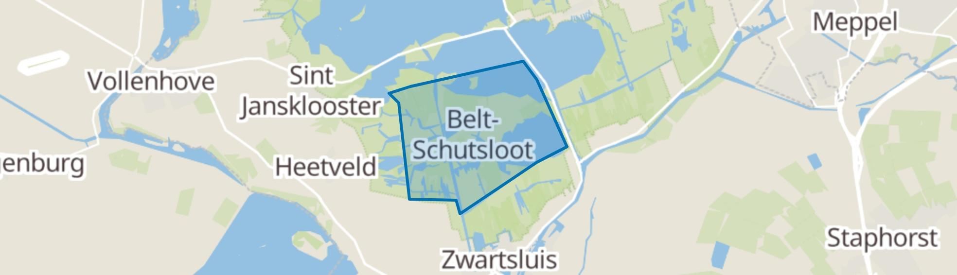 Belt-Schutsloot map