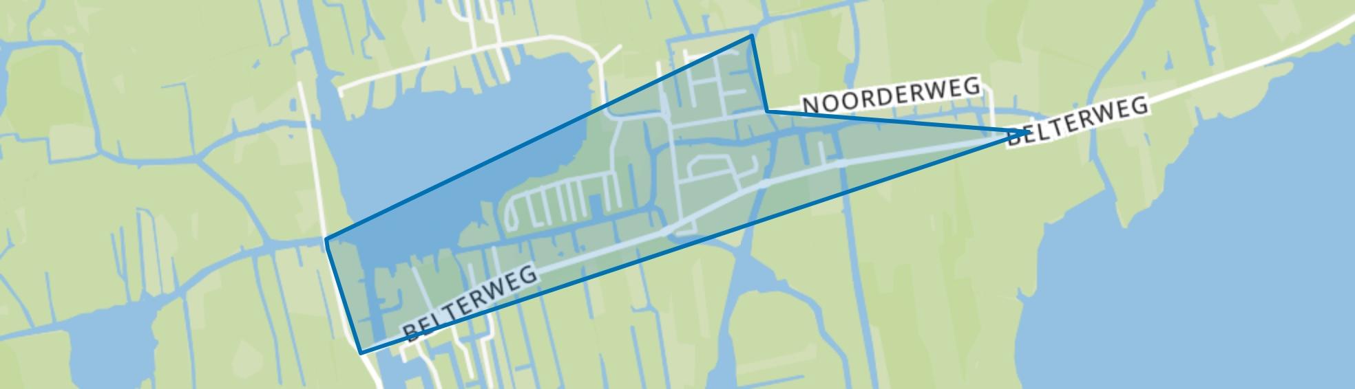 Belt-Schutsloot, Belt-Schutsloot map