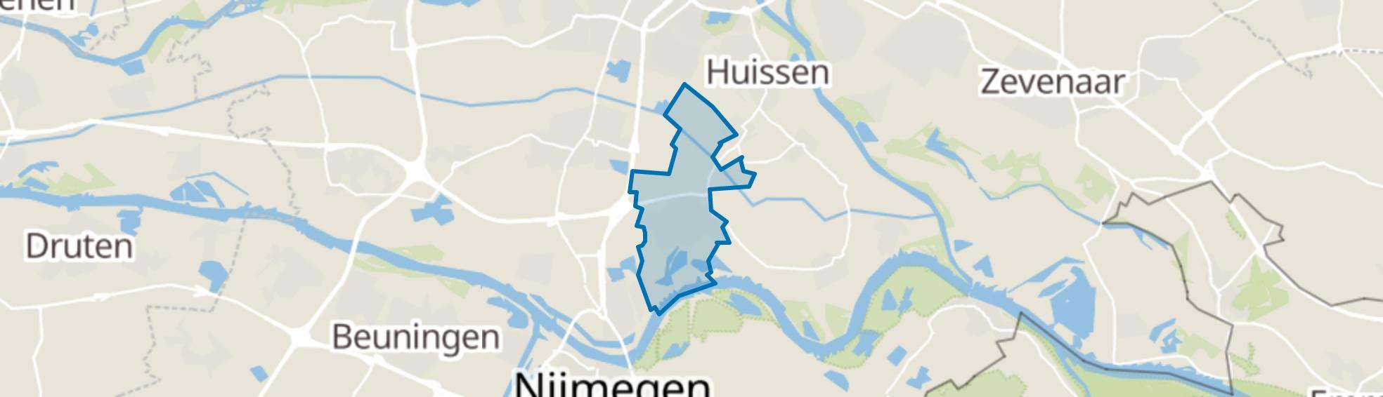 Bemmel map