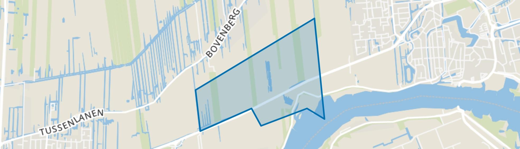 Provinciale weg (ged.) De Hem en Hogedijk (ged.), Bergambacht map