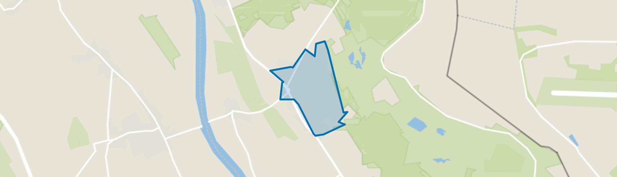 Nieuw-Bergen Kern, Bergen (LI) map