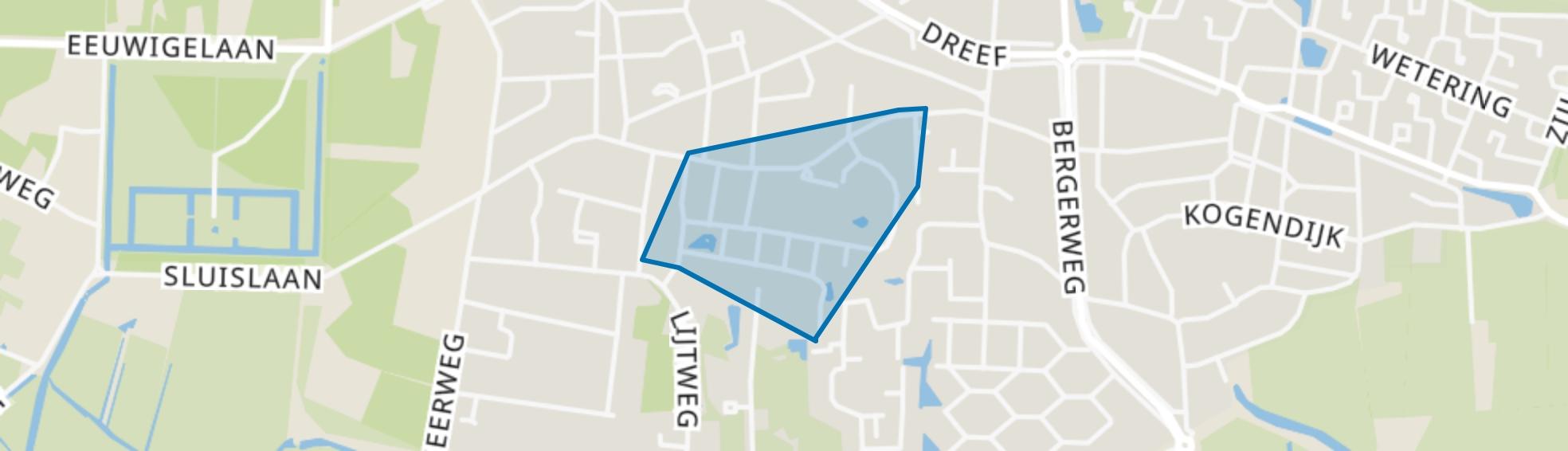 Beekhove, Bergen (NH) map