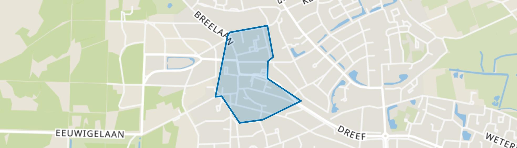 Bergen-Centrum, Bergen (NH) map