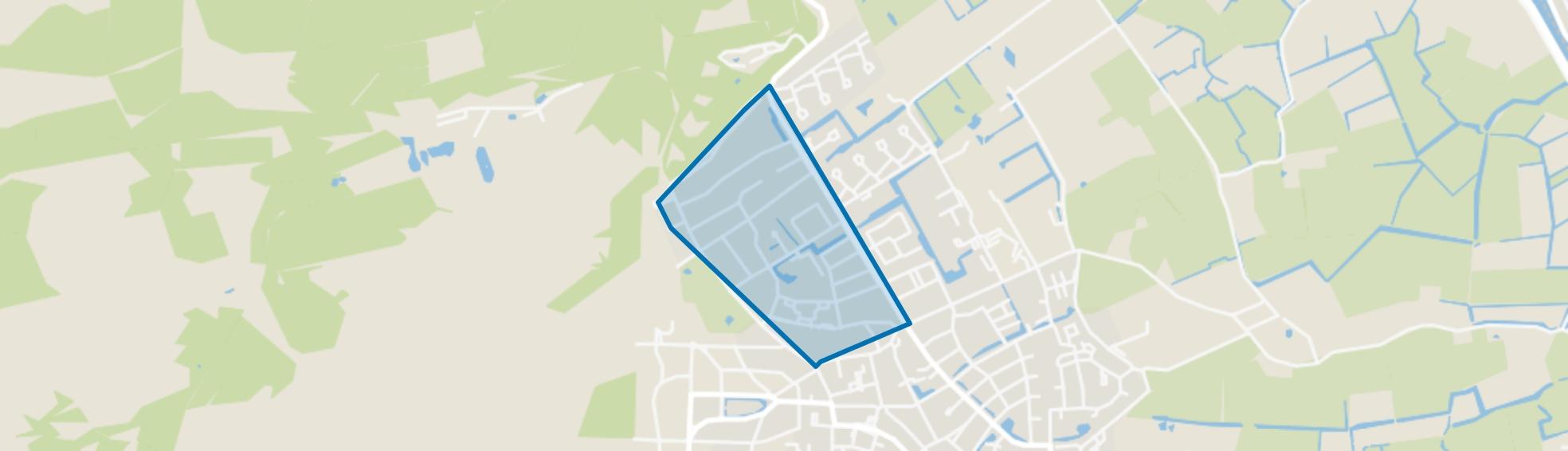 Boschrand, Bergen (NH) map