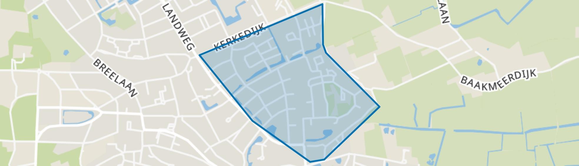 De Rekere, Bergen (NH) map