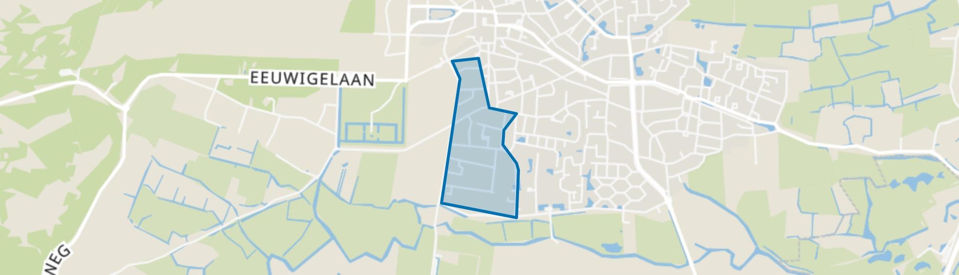 Geest, Bergen (NH) map