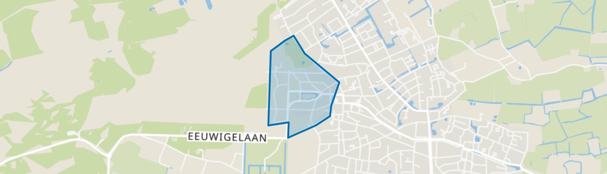 Van Reenen, Bergen (NH) map